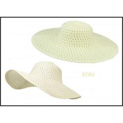 Letný plážový klobúk béžový