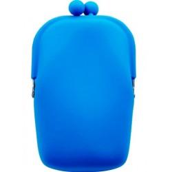 Silikónová kozmetická taštička modrá