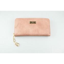 Peňaženka starorúžovej farby