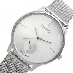 Dámske hodinky športovo-elegantné strieborné