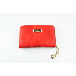 Peňaženka červenej farby menšia