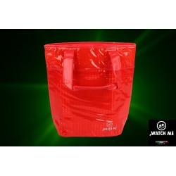 Žiarivá taška červená