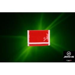 Reflexná peňaženka červená