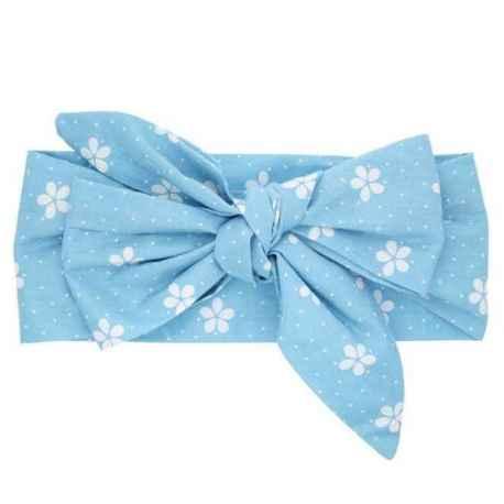 Hlavošatka modrá s kvetinkou