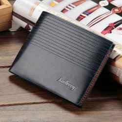 Baellery pánska kožená peňaženka granátová