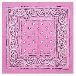 Šatka bandana rúžová