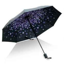 Dáždnik vysúvací fialkový