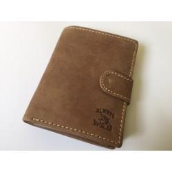 Exkluzívna pánska kožená peňaženka svetlo hnedá 502002  DEEYES
