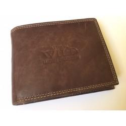 Exkluzívna pánska kožená peňaženka hnedá 502003  DEEYES