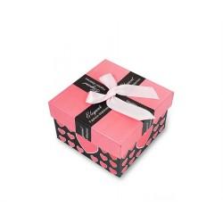 Darčeková krabička rúžová-čierna
