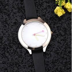 Dámske hodinky slim čierný ramienok