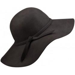 MÓDNY TREND TEJTO SEZÓNY! dámsky vlnený klobúk grafitový